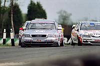 Round 3 of the 1998 British Touring Car Championship. #7 John Bintcliffe (GBR). Audi Sport UK. Audi A4.