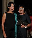 """SANTA SANTARELLI CON MARTINE BERNHEIM ORSINI <br /> PRESENTAZIONE SIGARO TOSCANO """"OPERA """" MST A VILLA AURELIA  ROMA 2014"""