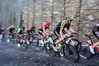 Dion Smith (NZL/Mitchelton-Scott) racing in torrential rains up Il Piccolo Stelvio at <br /> Grande Trittico Lombardo 2020 (1.Pro/ITA)<br /> 1 day race from Legnano to Varese (200km)