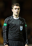 Motherwell v St Johnstone…06.02.18…  Fir Park…  SPFL<br />Referee Don Robertson<br />Picture by Graeme Hart. <br />Copyright Perthshire Picture Agency<br />Tel: 01738 623350  Mobile: 07990 594431