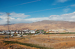 Boise, Idaho, Housing development encroaches on open space in the West, Pacific Northwest, USA.