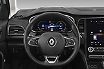 Car pictures of steering wheel view of a 2020 Renault Megane-Grandtour Intens 5 Door Wagon Steering Wheel