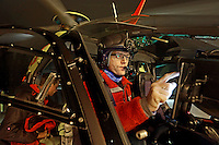 Pilot Lars Amdal, Norwegian Air Ambulance base Lørenskog (Photo:Fredrik Naumann/Felix Fetures.)
