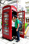 Phone booth in Buenos Aires