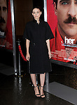 """LOS ANGELES, CA - December 12: Rooney Mara arrives at The Warner Bros' Pictures L.A. Premiere of """"her"""" held at The DGA in West Hollywood, California on December 12,2013                                                                               © 2013 Hollywood Press Agency"""