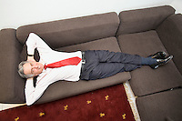 """Switzerland. Canton Ticino. Locarno. Marco Solari. President of """" Ente Ticinese per il Turismo (Ticino Tourism)"""". President of """" International Film Festival Locarno ( Festival Internazionale del Film Locarno) """". 18.03.09 © 2009 Didier Ruef"""