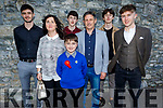 Matthew Rogers of Caherleaheen NS on his Confirmation in St John's Church on Saturday with his family. L to r: Eddie, Ann, Andy, Roland, David and Chris Rogers