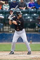 June 8, 2008: Fresno Grizzlies' Eli Whiteside at-bat during a Pacific Coast League game against the Tacoma Rainiers at Cheney Stadium in Tacoma, Washington.