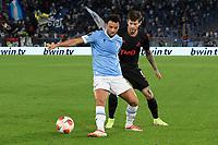 30th September 2021;  Stadio Olimpico, Rome, Italy;Europa League Football, SS Lazio versus Lokomotiv Moscow: Felipe Anderson of SS Lazio