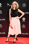 Esmeralda Moya attends to the party organized by Mercedes - Benz and Ushuaia Ibiza to the presentation of new Smart Fortwo Ushuaia Limited Edition 2016 at the Palacio de Cibeles in Madrid. March 10, 2016. (ALTERPHOTOS/BorjaB.Hojas)
