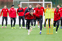 Wales National team training session - 19.11.2018