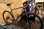 Bastion Cycles stand at Bespoked 2018 UK handmade bicycle show held at Brunel's Old Station & Engine Shed, Bristol, England. 21st April 2018.<br /> Picture: Eoin Clarke | Cyclefile<br /> <br /> <br /> All photos usage must carry mandatory copyright credit (© Cyclefile | Eoin Clarke)
