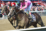 Haveyougoneaway (no. 10), ridden by John Velazquez and trained by Thomas Morley, wins the 38th running of the grade 1 Ballerina Stakes for fillies and mares three years old and upward on August 27, 2016 at Saratoga Race Course in Saratoga Springs, New York. (Bob Mayberger/Eclipse Sportswire)