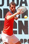 Albert Ramos-Vinolas during Madrid Open Tennis 2015 match.May, 6, 2015.(ALTERPHOTOS/Acero)
