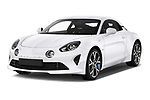Front three quarter view of 2019 Alpine A110 Pure 2 Door Coupe