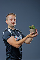 Pictured: Adam Stepien. Thursday 29 August 2018<br /> Re: Swansea City FC player and staff profile photo-shoot at Fairwood Training Ground, Wales, UK