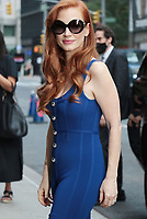 SEP 15 Jessica Chastain at The Late Show with Stephen Colbert