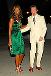 Iman and David Bowie attend the Vanity Fair 2007 Tribeca Film Festival Party at The Supreme Courthouse in New York City, New York onTuesday, April 24, 2007.