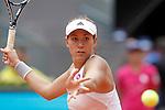 Garbine Muguruza during Madrid Open Tennis 2015 match.May, 4, 2015.(ALTERPHOTOS/Acero)