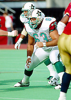 Mike Kiselak San Antonio Texans 1995. Photo F. Scott Grant