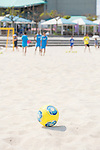 Ball,<br /> APRIL 20, 2014 - Beach Soccer :<br /> Beach Soccer Japan national team candidates training camp in Okinawa, Japan. (Photo by Wataru Kohayakawa/AFLO)