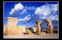 Roman Ruins at Carthage (Circa 814 BC) Tunisia - 28th November 1994