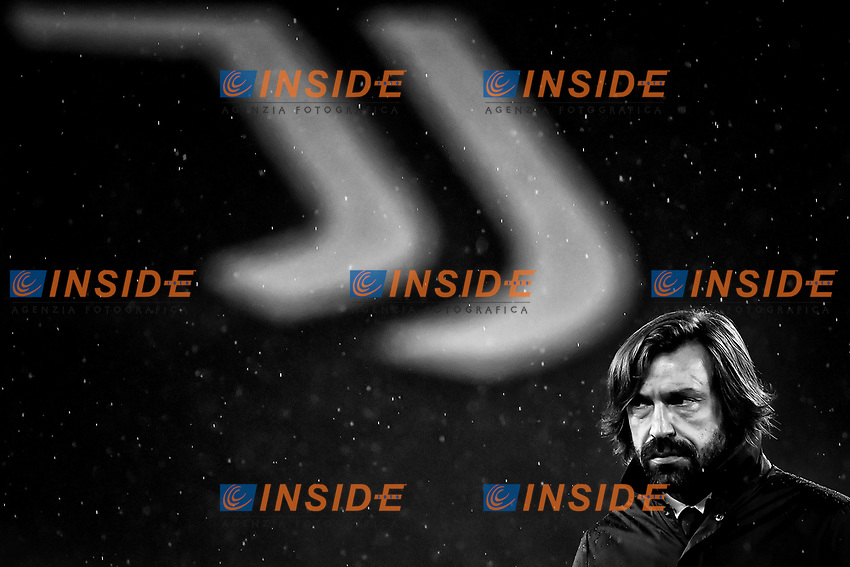 Andrea Pirlo coach of Juventus FC looks on prior to the Serie A football match between Juventus FC and Torino FC at Allianz stadium in Torino (Italy), December 5th, 2020. Photo Andrea Staccioli / Insidefoto