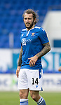 St Johnstone v Hibs……23.08.20   McDiarmid Park  SPFL<br />Stevie May<br />Picture by Graeme Hart.<br />Copyright Perthshire Picture Agency<br />Tel: 01738 623350  Mobile: 07990 594431
