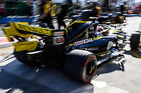 March 15, 2019: Daniel Ricciardo (AUS) #3 from the Renault F1 Team returns to his garage during practice session two at the 2019 Australian Formula One Grand Prix at Albert Park, Melbourne, Australia. Photo Sydney Low