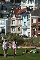 France, Seine-Maritime (76), Le Havre, classé Patrimoine Mondial de l'UNESCO, le cFRont de mer et ses villas // : France, Seine Maritime, Le Havre, listed as World Heritage by UNESCO,   waterfront and villas