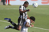 Santos (SP), 27.01.2020 - Santos-Botafogo - O jogador Kanu e Marinho. Partida entre Santos e Botafogo valida pela 30. rodada do Campeonato Brasileiro neste domingo (27) no estadio da Vila Belmiro em Santos.