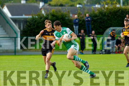 Padraig Lucey and  Legion Gavin White Dr Crokes during their O'Donoghue cup clash in Killarney on Sunday