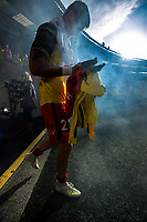 Phoenix reserve keeper Oliver Sail walks out during the A-League football match between Wellington Phoenix and Central Coast Mariners at Westpac Stadium in Wellington, New Zealand on Saturday, 4 January 2020. Photo: Dave Lintott / lintottphoto.co.nz