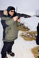 Iditarod Spectator @ Takotna Chkpt 2005 Iditarod