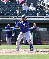 Jose Trevino - Texas Rangers 2021 spring training (Bill Mitchell)