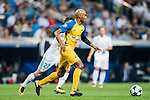 Carlos Roberto Da Cruz Junior, Cariao, of APOEL FC in action during the UEFA Champions League 2017-18 match between Real Madrid and APOEL FC at Estadio Santiago Bernabeu on 13 September 2017 in Madrid, Spain. Photo by Diego Gonzalez / Power Sport Images