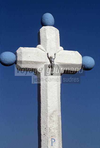Europe/France/Bretagne/29/Finistère/Ile d'Ouessant: Croix de calvaire