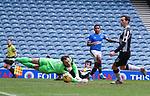06.03.2021 Rangers v St Mirren: Alfredo Morelos scores for Rangers