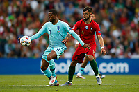 Georginio Wijnaldum of Netherlands and Bruno Fernandes of Portugal during the UEFA Nations League Final match between Portugal and Netherlands at Estadio do Dragao on June 9th 2019 in Porto, Portugal. (Photo by Daniel Chesterton/phcimages.com)<br /> Finale <br /> Portogallo Olanda<br /> Photo PHC/Insidefoto <br /> ITALY ONLY
