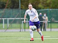 Britt Vanhamel (4 Anderlecht) pictured during a female soccer game between Club Brugge Dames YLA and RSC Anderlecht Ladies on the fifth matchday of the 2020 - 2021 season of Belgian Scooore Womens Super League , sunday 18 October 2020  in Brugge , Belgium . PHOTO SPORTPIX.BE | SPP | DAVID CATRY