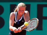 24-05-10, Tennis, France, Paris, Roland Garros, First round match, Kudryavtseva