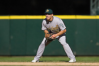 September 28, 2008: Oakland Athletics second baseman Cliff Pennington during a game against the Seattle Mariners at Safeco Field in Seattle, Washington.