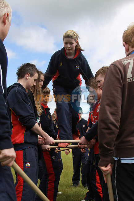 Scoil Ui Mhuiri Sports Day..Laura Dyas.Photo: Fran Caffrey/www.newsfile.ie...