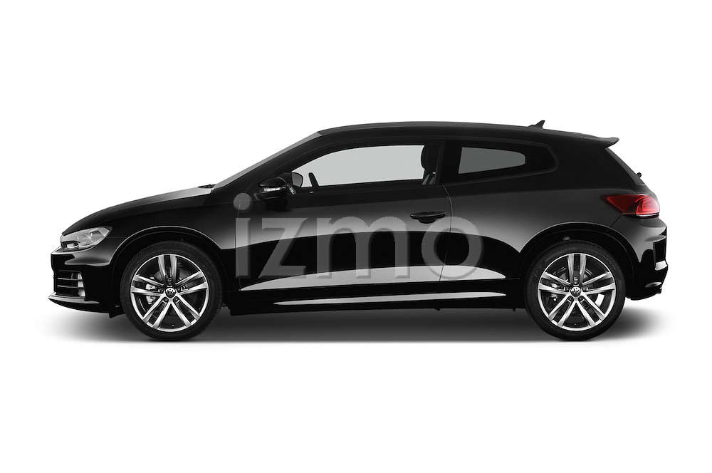 Car Driver side profile view of a 2015 Volkswagen SCIROCCO R 3 Door Hatchback 2WD Side View