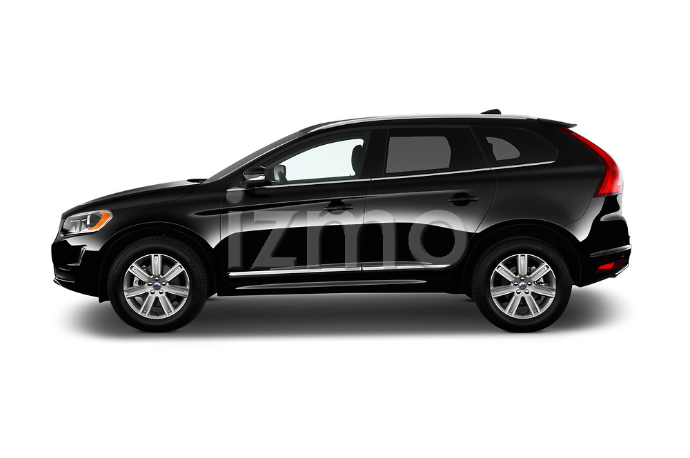 Car Driver side profile view of a 2017 Volvo XC60 Inscription 5 Door SUV Side View