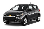 2020 Chevrolet Spark LS Select Doors Door Hatchback angular front stock photos of front three quarter view