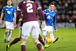 Hearts v St Johnstone…26.01.19…   Tynecastle    SPFL<br />Danny Swanson is closed down<br />Picture by Graeme Hart. <br />Copyright Perthshire Picture Agency<br />Tel: 01738 623350  Mobile: 07990 594431