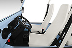 Front seat view of a 2019 Moke America eMoke Base 5 Door SUV front seat car photos