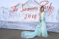 Olivia Arben<br /> arriving for the Serpentine Summer Party 2018, Hyde Park, London<br /> <br /> ©Ash Knotek  D3409  19/06/2018