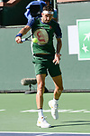 Grigor Dimitrov (BUL) is defeated by Cameron Norrie (GBR) 6-2, 6-4, at the BNP Paribas Open being played at Indian Wells Tennis Garden in Indian Wells, California on October 16,2021: ©Karla Kinne/Tennisclix/CSM